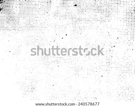 Grunge Black and White Distress Texture . Scratch Texture . Dirty Texture . Wall Background . Grunge Background . Grunge Texture . Vector Illustration.  - stock vector