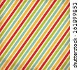Grunge Christmas Striped Background - stock vector