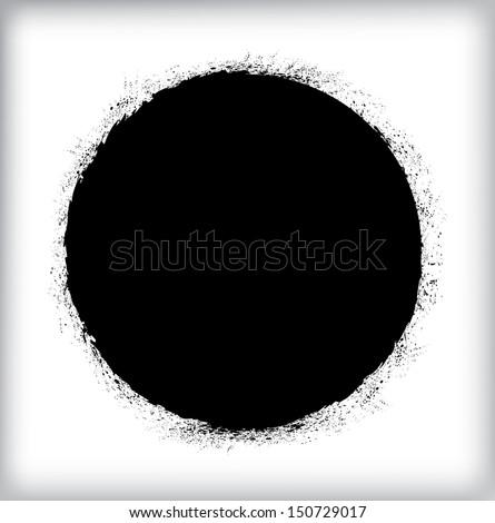 of vector grunge circle - photo #46
