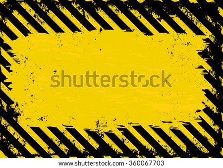 grunge danger background - stock vector