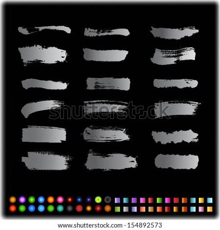 Grunge Design Element - stock vector