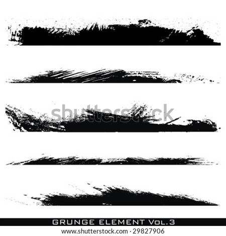 Grunge Elements - stock vector