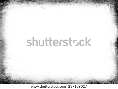 Grunge Frame - stock vector