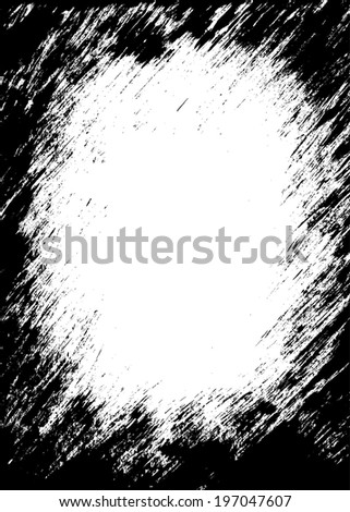grunge frame-grunge background. a grunge vector frame with jpg high resolution image and eps vector file. - stock vector