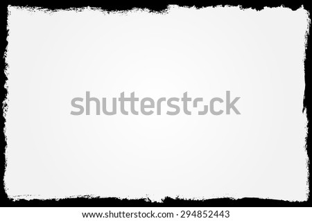 Grunge frame. Grunge background. Abstract vector template.  - stock vector