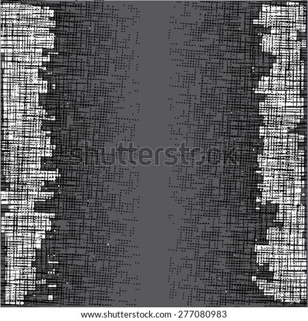 Grunge halftone dots vector texture background . Dotted Abstract Vector Texture . Distress Dirty Damaged Brush Overlay Texture  - stock vector