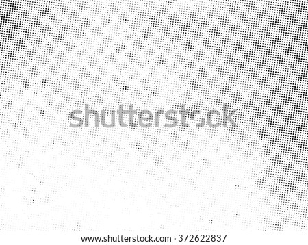 Grunge halftone dots vector texture background. Grunge background Texture. - stock vector