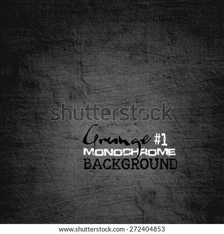 Grunge monochrome background. vector illustration. - stock vector