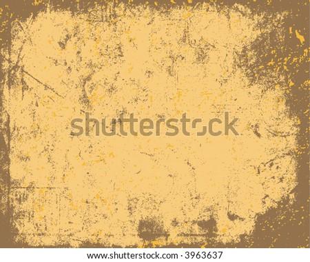 Grunge Paper Vector Texture Background - stock vector