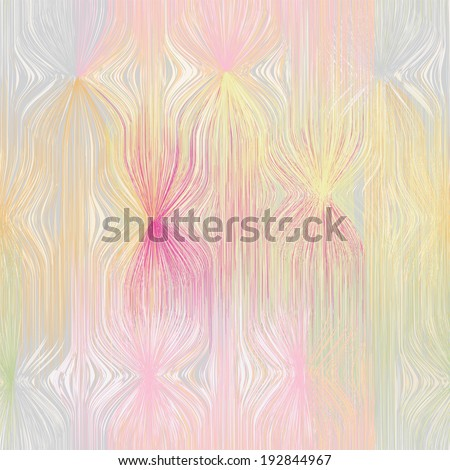 Grunge striped and stained wavy background in pastel colors - stock vector