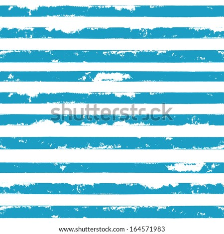 Grunge striped background. Seamless pattern. Vector illustration - stock vector