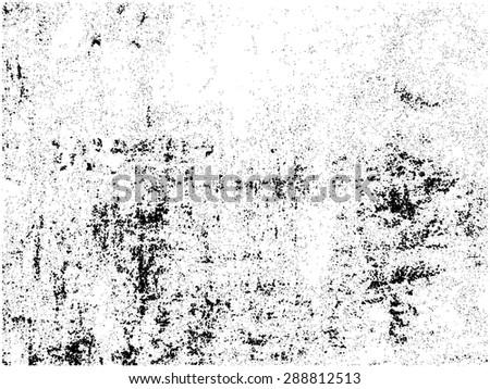 Grunge texture.Distress overlay texture.Vector template. - stock vector