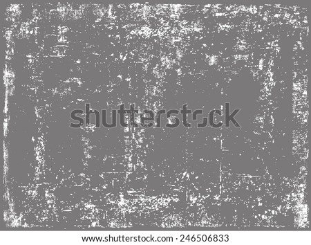 Grunge texture.Grunge background.Vector template.  - stock vector