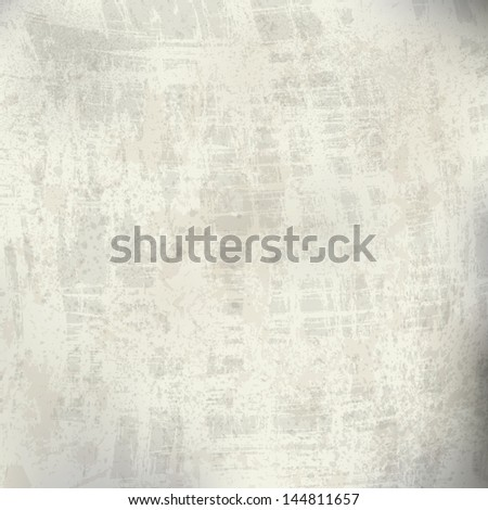 Grunge texture. Vector background. Wall - stock vector