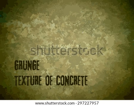 Grunge textures, background with spots, camouflage. Vector illustration. Brutal abstract design suitable for military theme, army. - stock vector