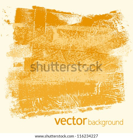Grunge textures, set 10 - stock vector