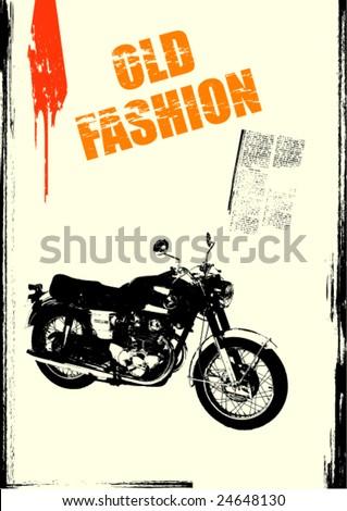 Grunge Vector Background - stock vector