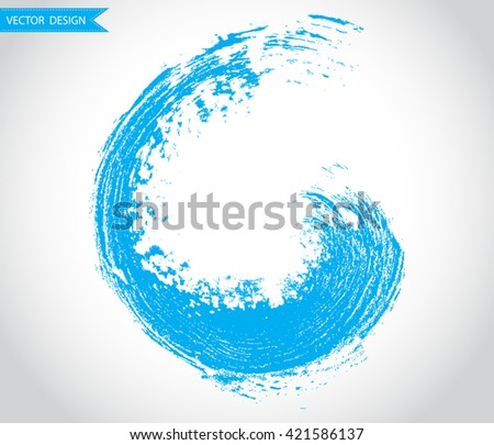 Grunge Wave.Surfing Wave.Brush Wave.Wave Logo.Wave Icon.Wave Sign.Wave Vector. - stock vector