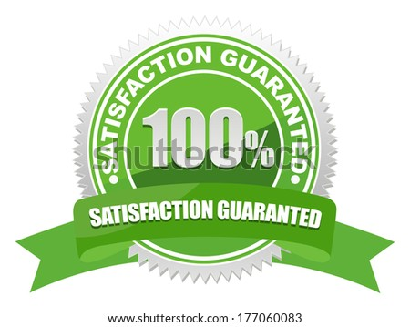 guarantee seal - stock vector