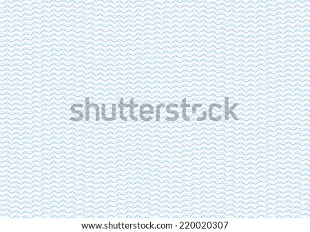 Guilloche Background Pattern For Certificate Vector Illustration - stock vector