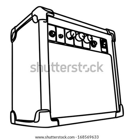 guitar amp drawing pictures to pin on pinterest