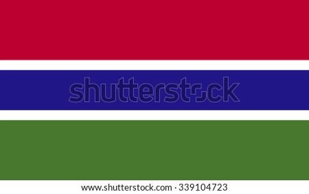 Guyana flag - stock vector