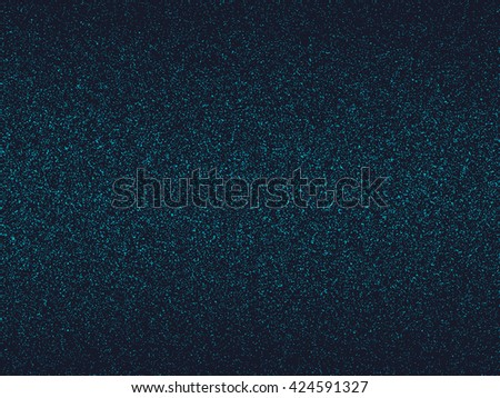 Halftone blue and black pattern. Abstract vector blue background. - stock vector