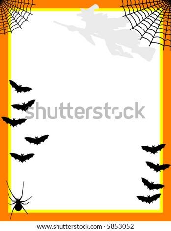 Halloweeen Stationary, Vector illustration - stock vector