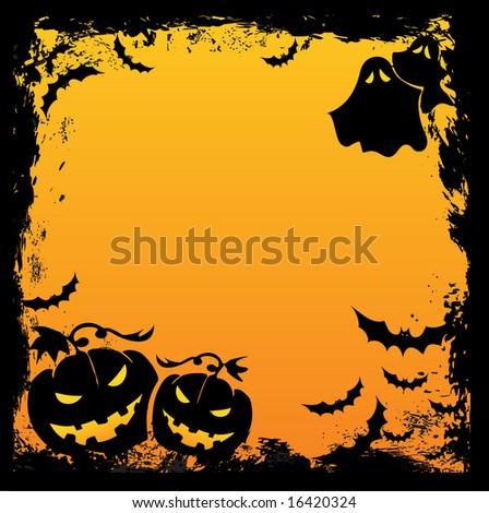 Halloween background - stock vector