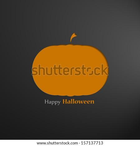 Halloween border for design - stock vector