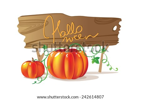 Halloween design element - stock vector