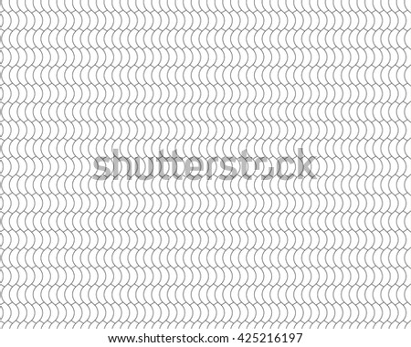 halves simple black and white seamless background .Vector illustration. EPS 10. - stock vector