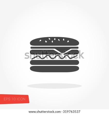 Hamburger Icon / Hamburger Icon Object / Hamburger Icon Graphic / Hamburger Icon Art / Hamburger Icon JPG / Hamburger Icon JPEG / Hamburger Icon EPS / Hamburger Icon AI - stock vector
