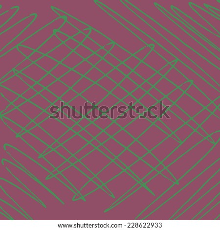 Hand drawn background. Grungy texture made with pen. - stock vector