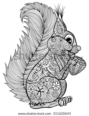 http://thumb101.shutterstock.com/display_pic_with_logo/2634025/311620643/stock-vector-hand-drawn-funny-squirrel-with-nut-for-adult-anti-stress-coloring-page-with-high-details-isolated-311620643.jpg