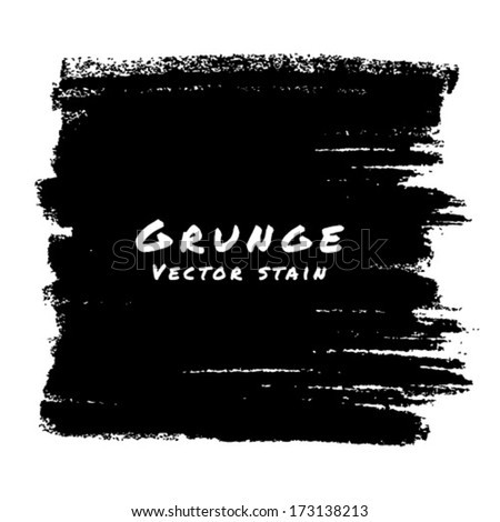 Hand Drawn Grunge background. Vector Illustration  - stock vector