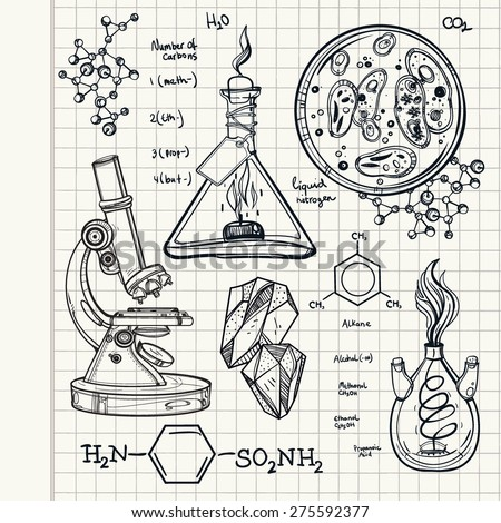 chemistry title page ideas