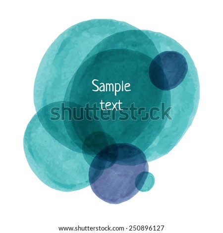 Hand-drawn marker vector spots. Eps10 banner texture background. - stock vector