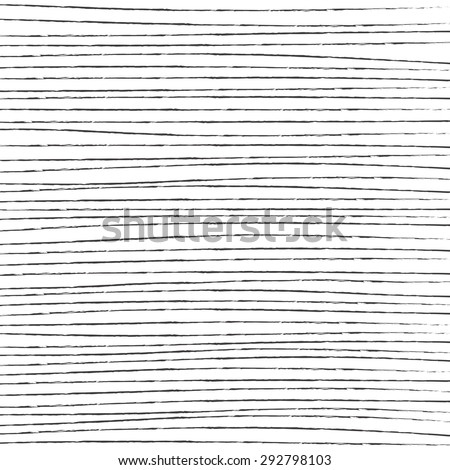 Hand Drawn Simple Straight Lines Vector Background - stock vector