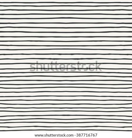hand drawn striped pattern design. vector illustration - stock vector