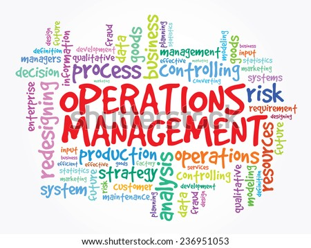 related coursework for operations management