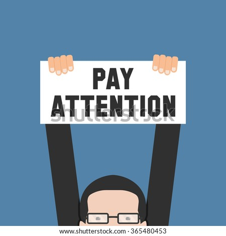 Pay Attention Stock Vectors & Vector Clip Art | Shutterstock Pay Attention Clipart
