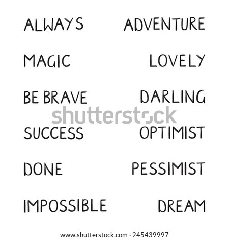 Handwriting phrase, t-shirt writing. - stock vector