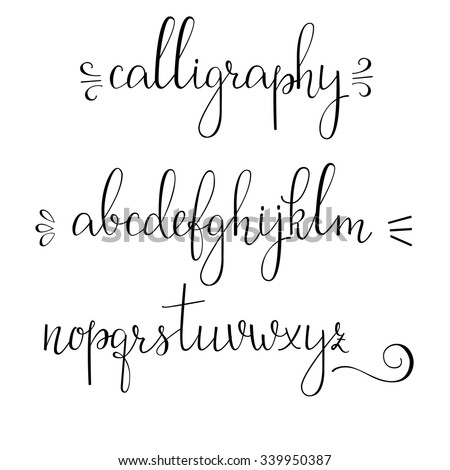 Cursive Stock Photos Images Pictures Shutterstock