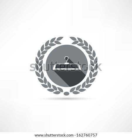hanger icon - stock vector