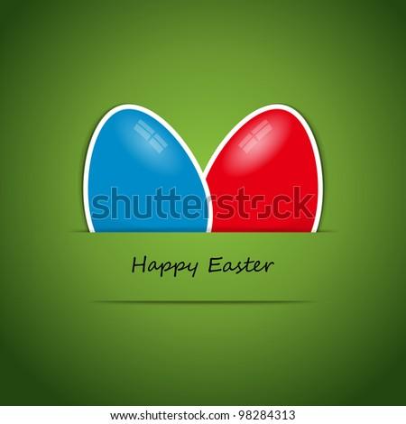 Happy Easter - stock vector