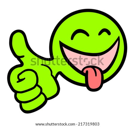 Happy face - stock vector