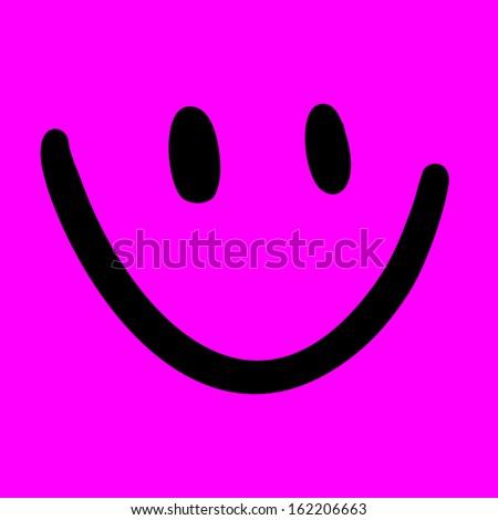 Happy funny mask - stock vector