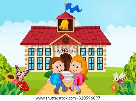 Go To School Stock Vectors & Vector Clip Art | Shutterstock