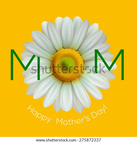 Happy mothers day, vector illustration. - stock vector